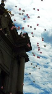 Volo palloncini sequenza 5